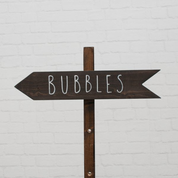 wegwijzer bubbles links
